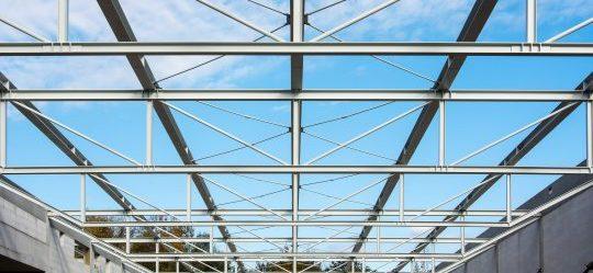 Carissma Gitterbinder Stahlkonstuktion