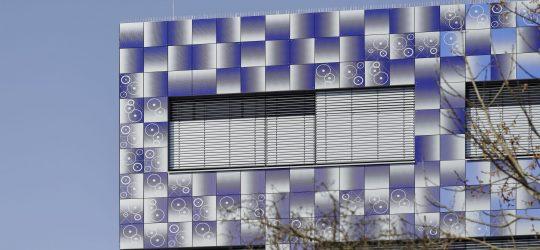 TUM Garching. Bild mit freundlicher Genehmigung des Staatlichen Bauamtes München 2